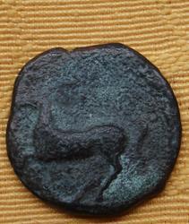 AE19 Kainon en Sicilia. 365-360 a. C. Th_221319594_038_122_529lo