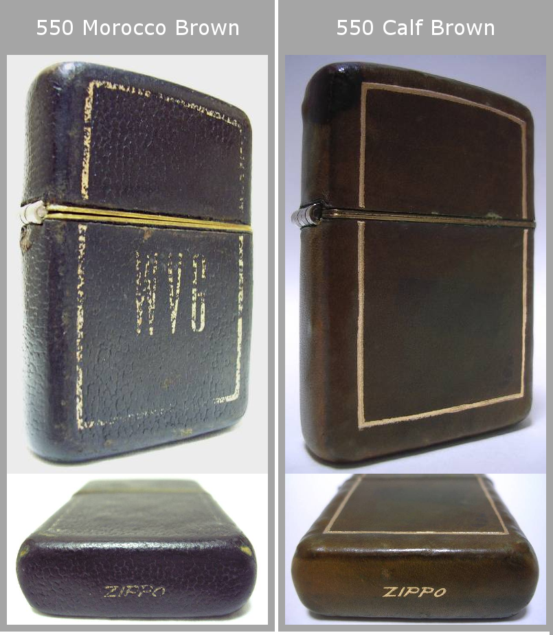 Datation - [Datation] Les Zippo Leather Crafted (Cuir) 1950-1951-2--525f38b