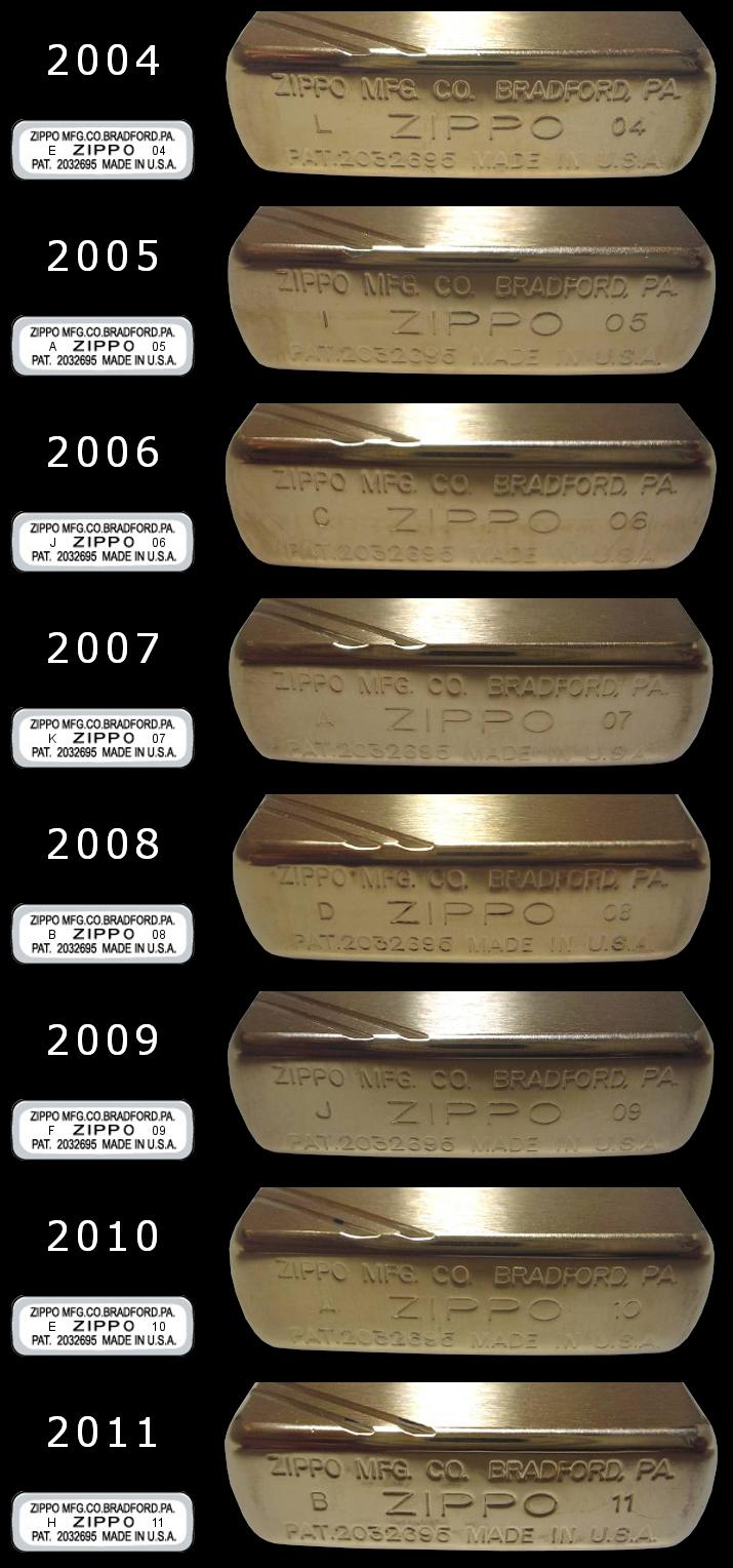 Datation - [Datation] Les Zippo 1937 Replica 2004-2011-52458e3