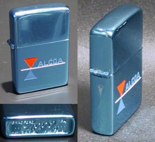Datation - [Datation] Les Zippo Solid Aluminium (prototype) 1956---alcoa-524310d