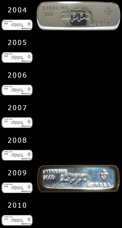 [Datation] Les Zippo Sterling Silver 2004-2010-523ebea