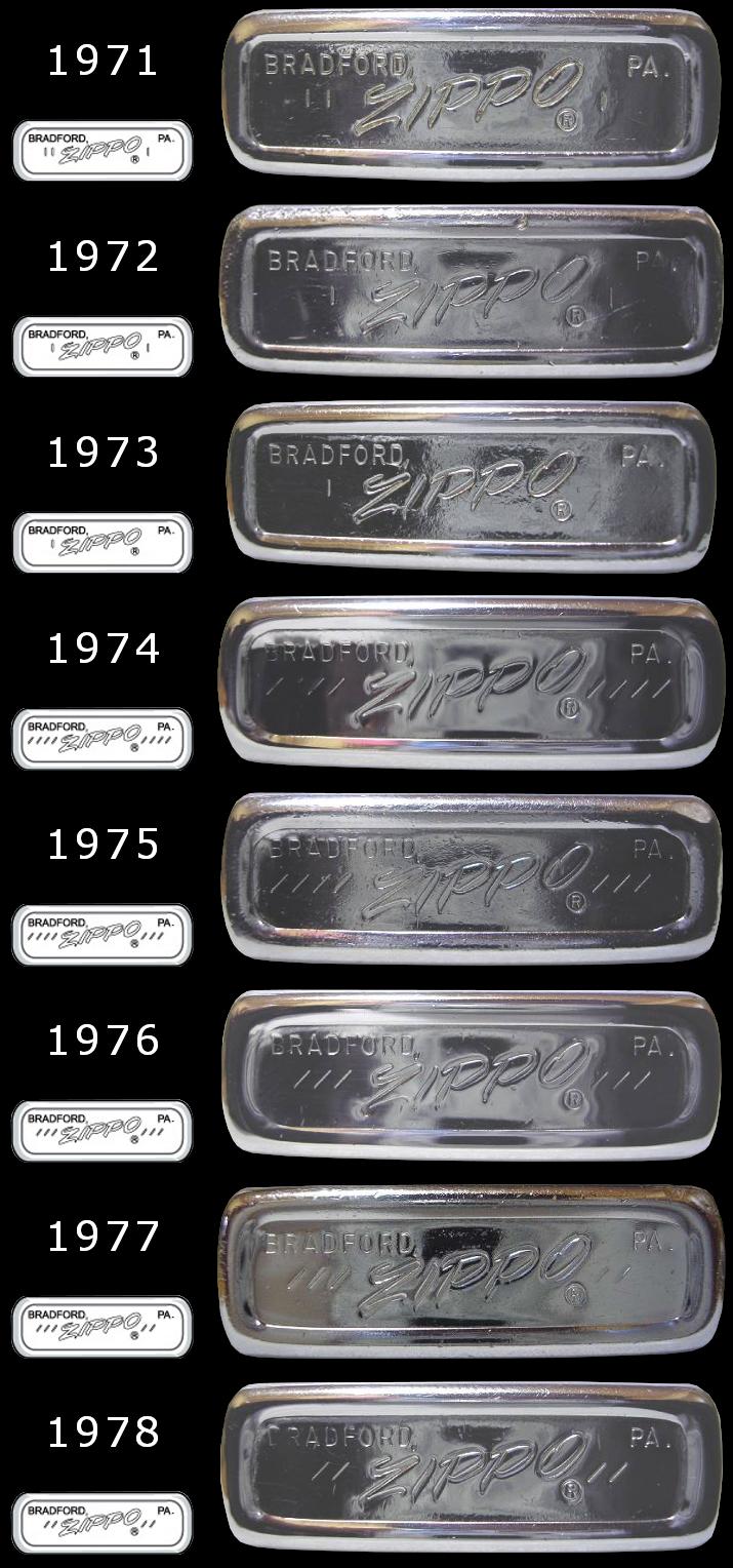 Datation - [Datation] Les Zippo Regular Regular-1971-1978-5266fc3