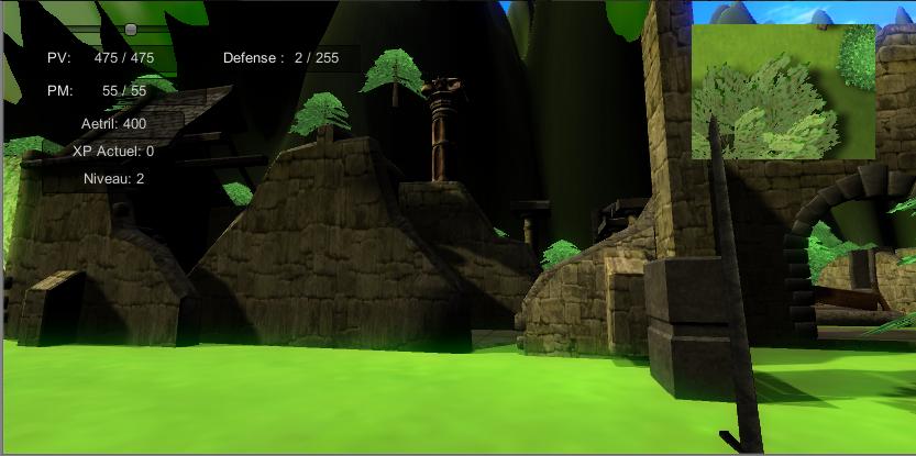 Chroniques de la guerre des Six Unity 3D (Reprise Lente) Ruines-530b18d