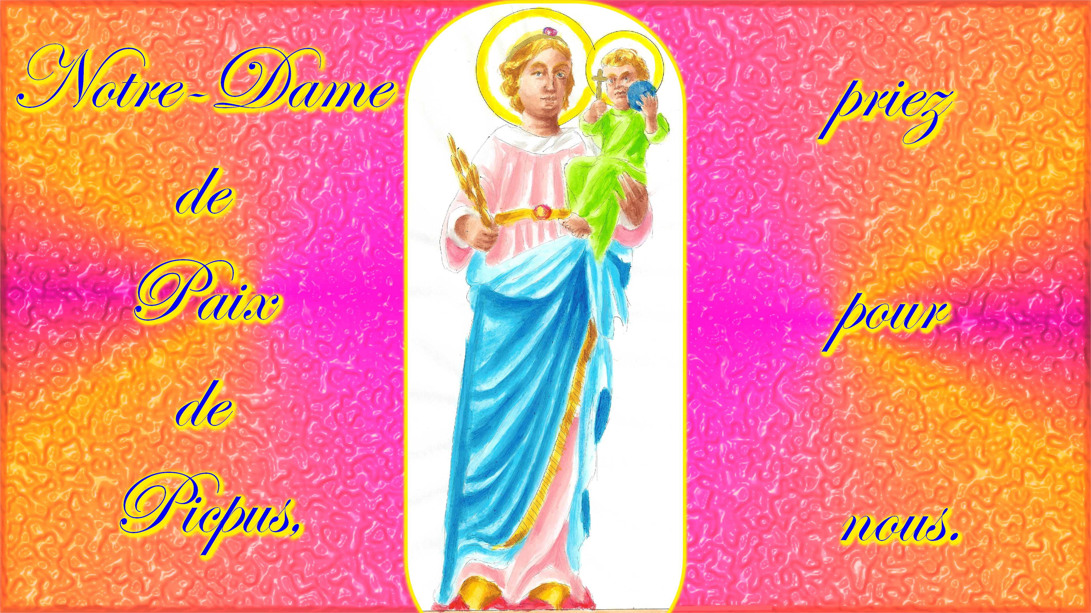 CALENDRIER CATHOLIQUE 2020 (Cantiques, Prières & Images) - Page 20 Notre-dame-de-paix-de-picpus-565bd29