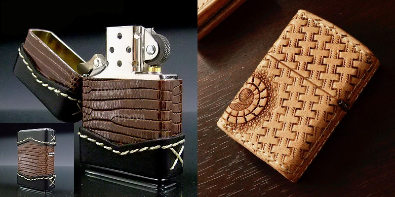 Datation - [Datation] Les Zippo Leather Crafted (Cuir) Japan-leather-1-525f3c5