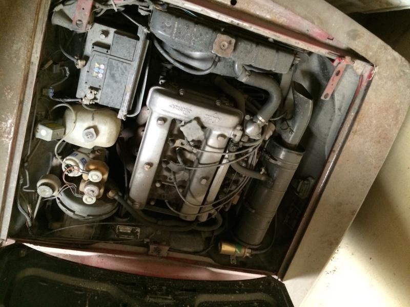 Restauration bertone 1750 stradale série 2 de 1971 Image-4ae2a41