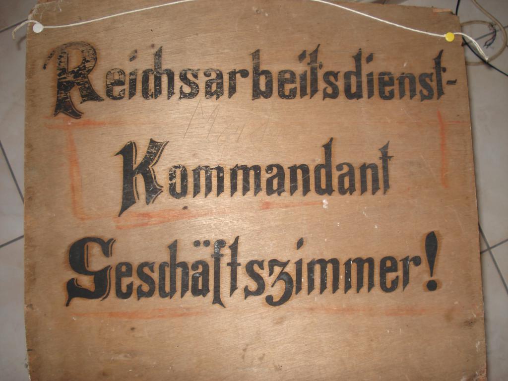 panneau en bois du RAD 009-55c5299