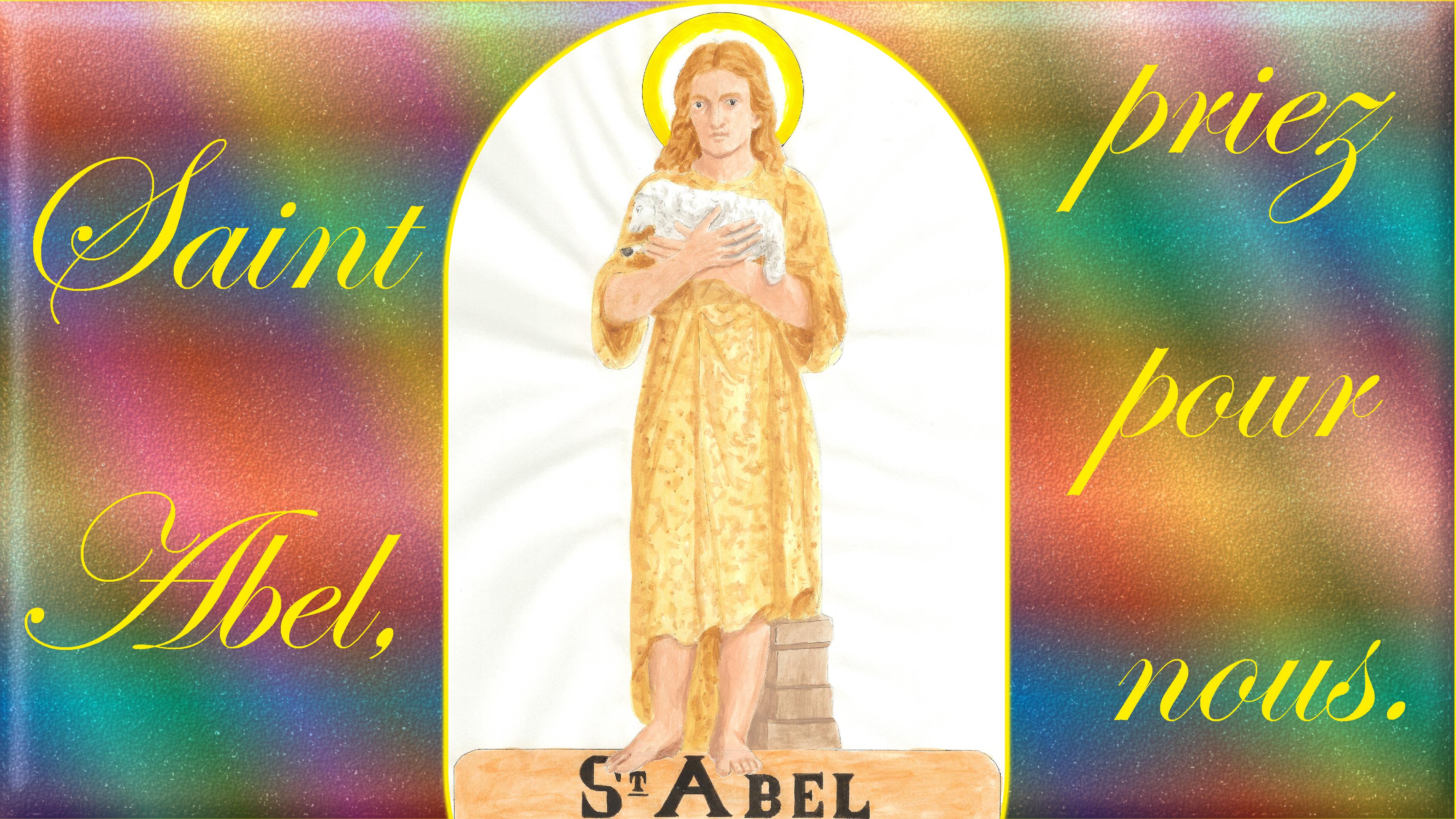 CALENDRIER CATHOLIQUE 2019 (Cantiques, Prières & Images) - Page 4 St-abel-566b9c8