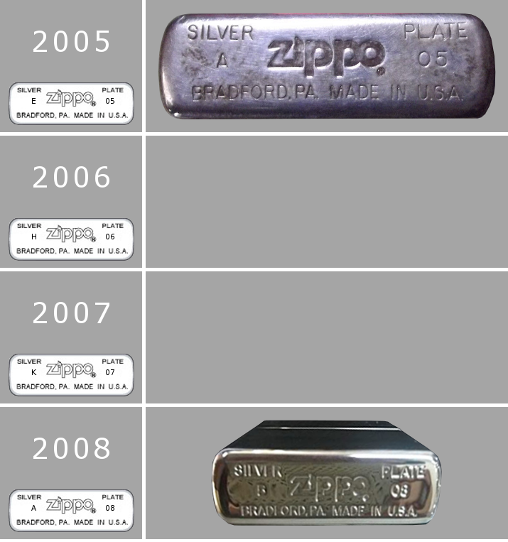 [Datation] Les Zippo Sterling Silver 2005-2008-52427b6