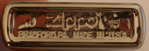 Datation - [Datation] Les Zippo Regular 2015-52670b0