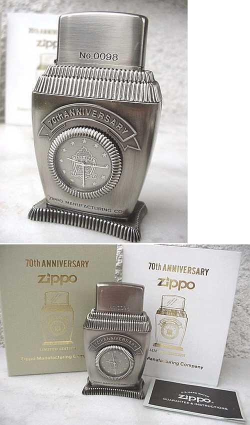 Datation - [Datation] Les Zippo Table Lighter 2002-lady-barbara-70th-52690b0