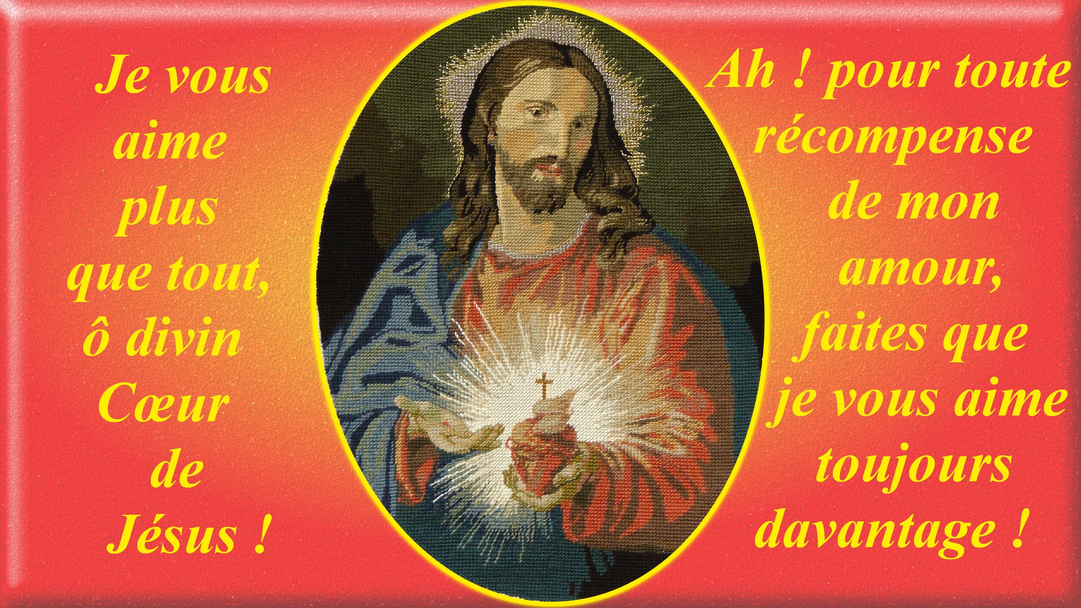CALENDRIER CATHOLIQUE 2020 (Cantiques, Prières & Images) - Page 4 Canevas-du-sacr--coeur-55bcdec