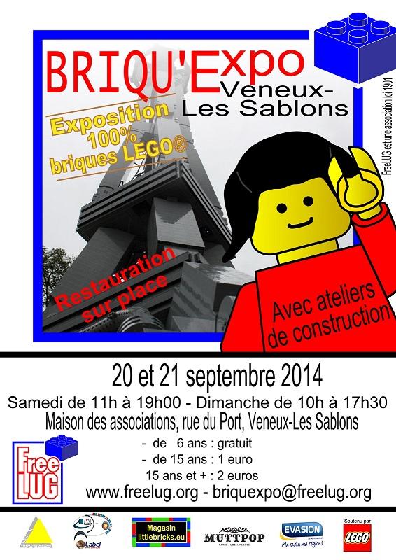 [Expo] Briqu'Expo à Veneux Les Sablons le 20 et 21 Septembre 2014 Briquexpoveneux2014-476a946