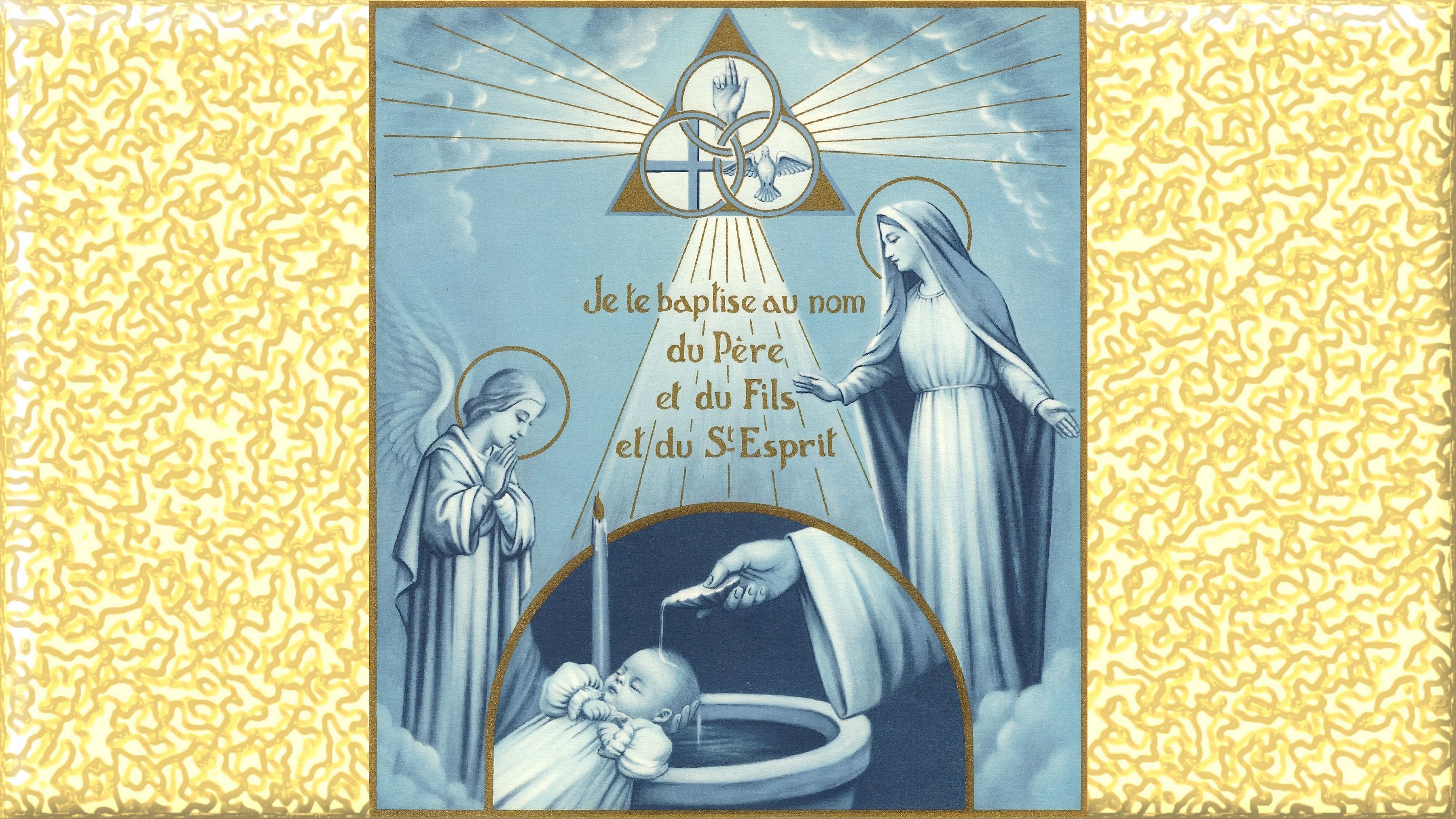 Pour la VALIDITÉ du BAPTÊME l'EAU DOIT COULER SUR la PEAU en même temps que les paroles sont dites Le-bapt-me-5610191
