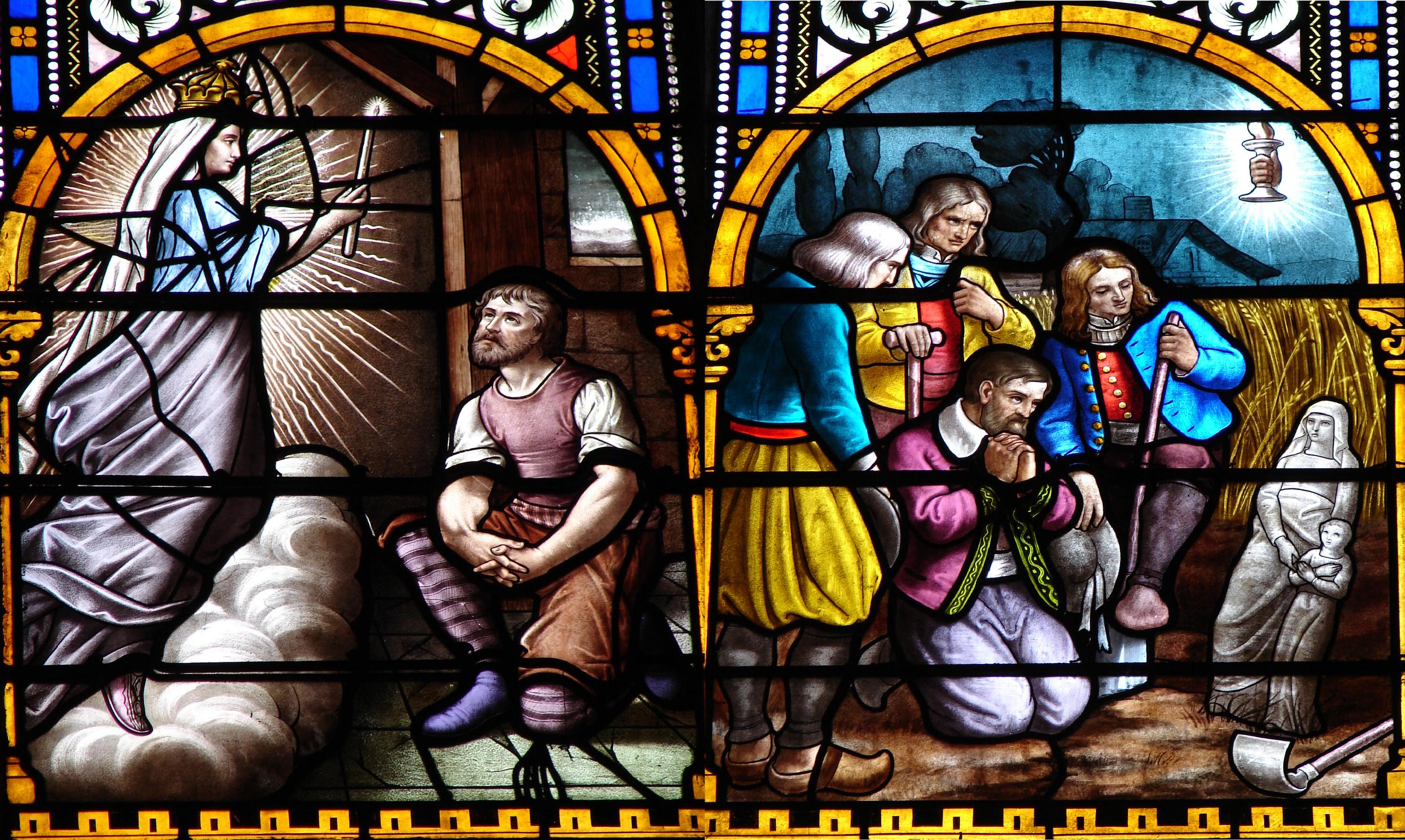 CALENDRIER CATHOLIQUE 2019 (Cantiques, Prières & Images) - Page 3 Apparation-de-ste-anne-auray-56665e5