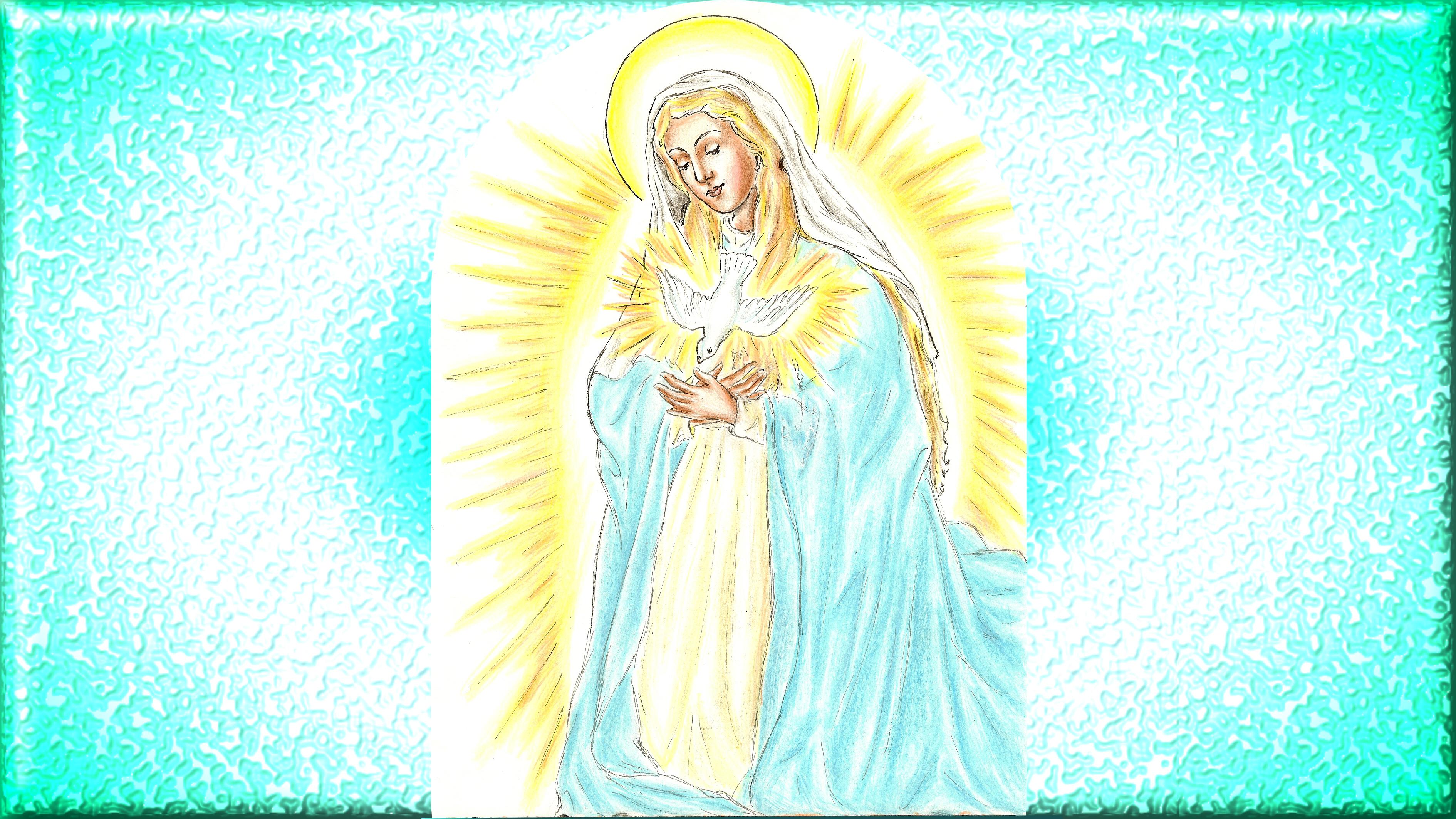 CALENDRIER CATHOLIQUE 2019 (Cantiques, Prières & Images) - Page 18 Maternit-divine-de-marie-55824e5