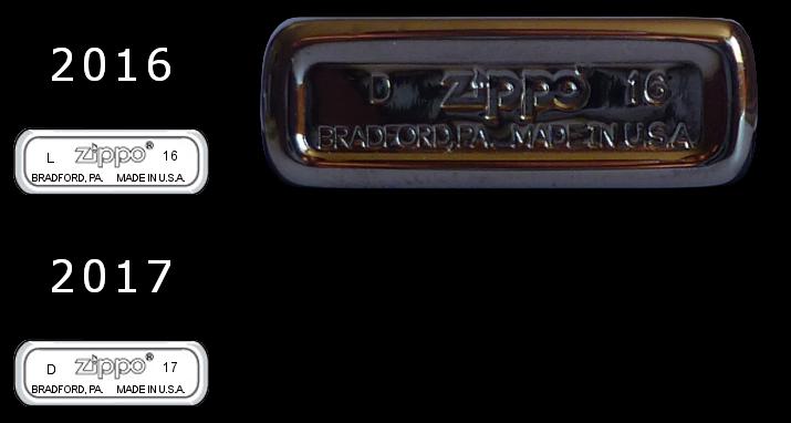 Datation - [Datation] Les Zippo Slim 2016-2017-52820c3
