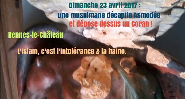 Aude: une musulmane décapite la statue célèbre de l'église Img_9010-521f2ec