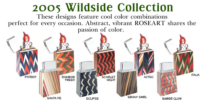 Datation - [Datation] Les Zippo Table Lighter Wildside_collection-52693a7