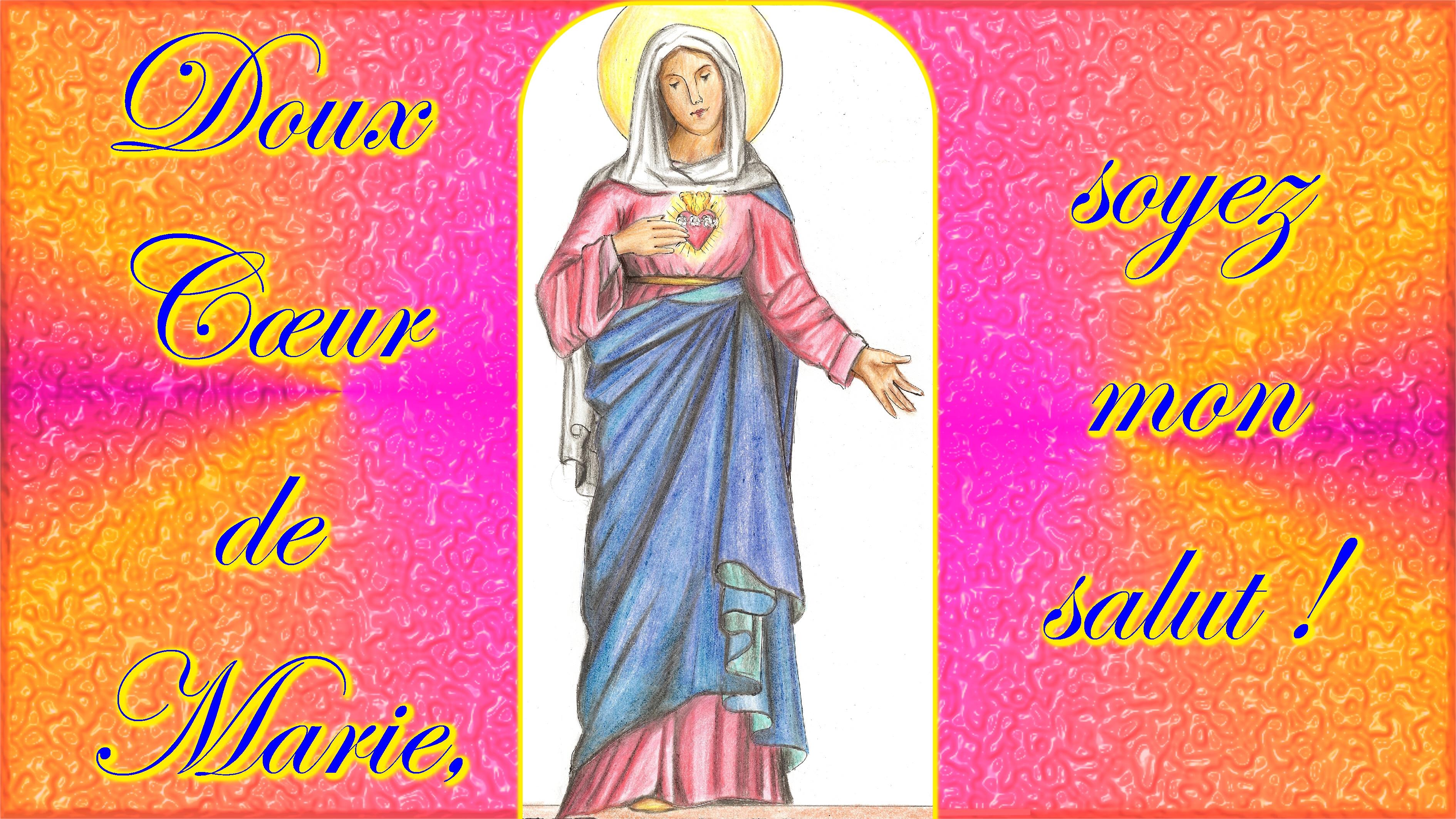 CALENDRIER CATHOLIQUE 2019 (Cantiques, Prières & Images) - Page 6 Coeur-immacul-de-marie-567e2d8