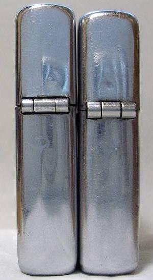 Datation - [Datation] Les Zippo Regular 1946-1947-taille-comparatif-5266df4