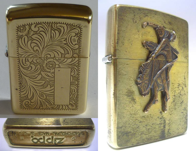 Datation - [Datation] Les Zippo Solid Brass Zippo-brass-non-embouti-524a446