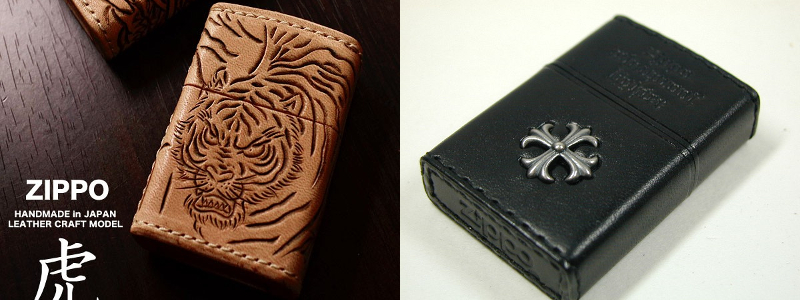 Datation - [Datation] Les Zippo Leather Crafted (Cuir) Japan-leather-5-525f3e1