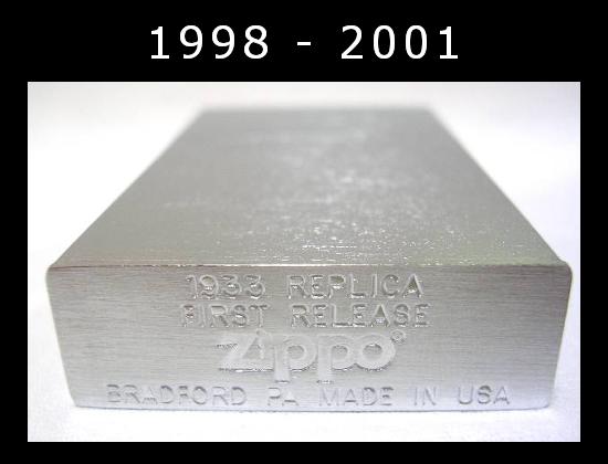 Datation - [Datation] Les Zippo 1932-1933 Replica 1998---2001-1--523a989