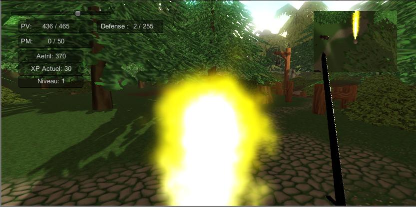 Chroniques de la guerre des Six Unity 3D (Reprise Lente) Magie-530b183