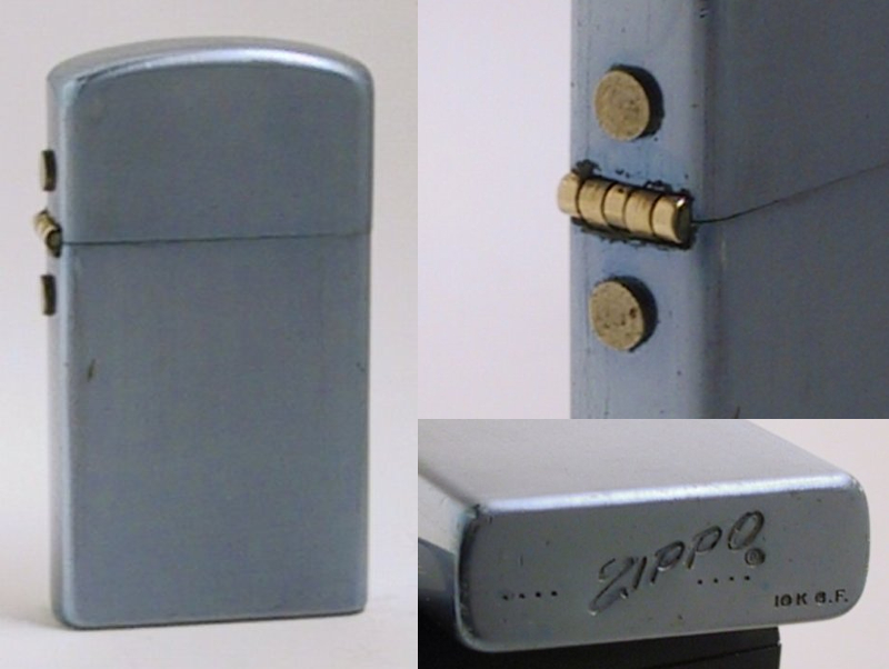 Datation - [Datation] Les Zippo Solid Aluminium (prototype) 1957---slim-alu-5243111