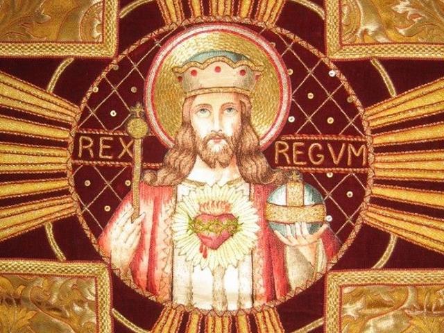 """Encyclique """"QUAS PRIMAS"""" pour la Fête du CHRIST-ROI (11/12/1925) Pie XI Le-christ-roi-sacr--coeur--554c33a"""