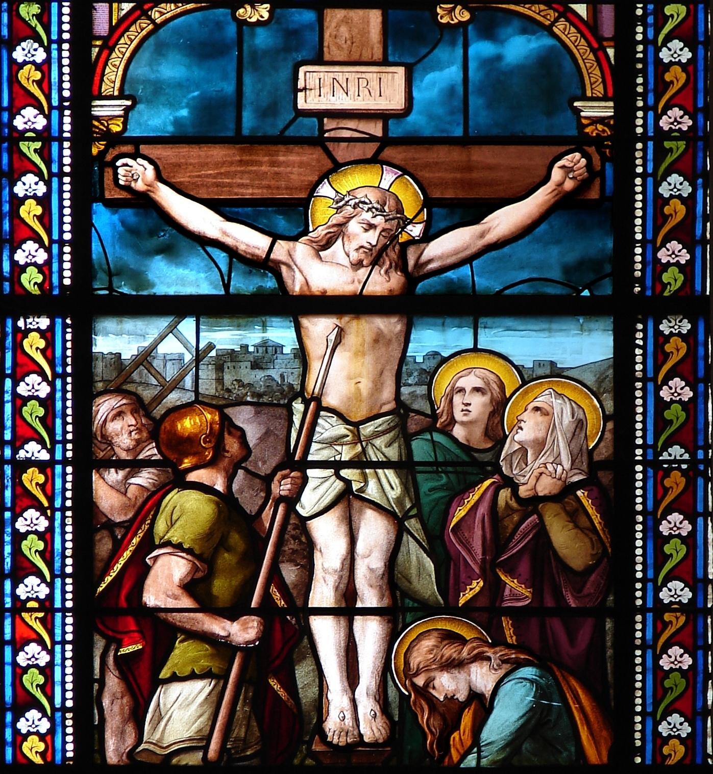 CALENDRIER CATHOLIQUE 2020 (Cantiques, Prières & Images) - Page 8 Le-crucifiement-5617502