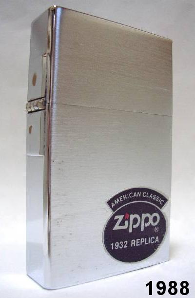 Datation - [Datation] Les Zippo 1932-1933 Replica 1932-replica-first-release-523a8ad