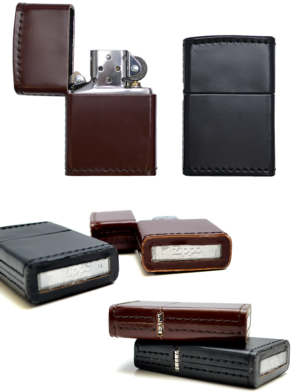 Datation - [Datation] Les Zippo Leather Crafted (Cuir) Japan-leather-7-525f3e9