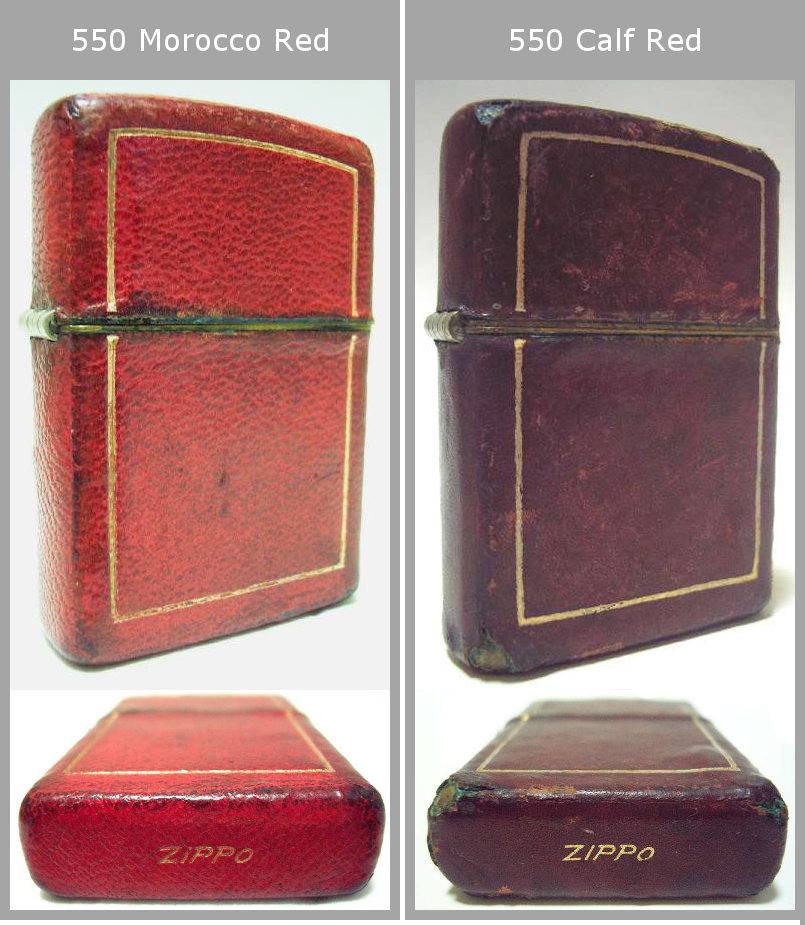 Datation - [Datation] Les Zippo Leather Crafted (Cuir) 1950-1951-3--525f38f