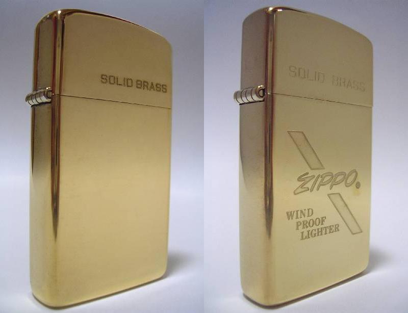 Datation - [Datation] Les Zippo Solid Brass Zippo-solid-brass-slim-524a49d