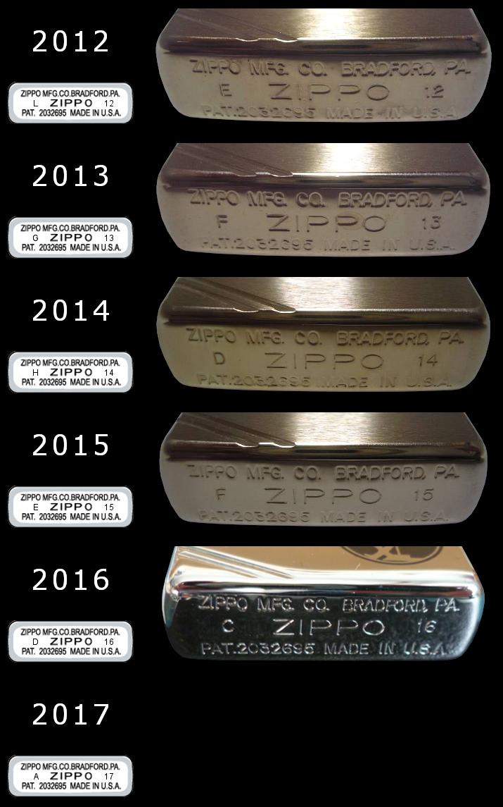 Datation - [Datation] Les Zippo 1937 Replica 2012-2017-52458eb