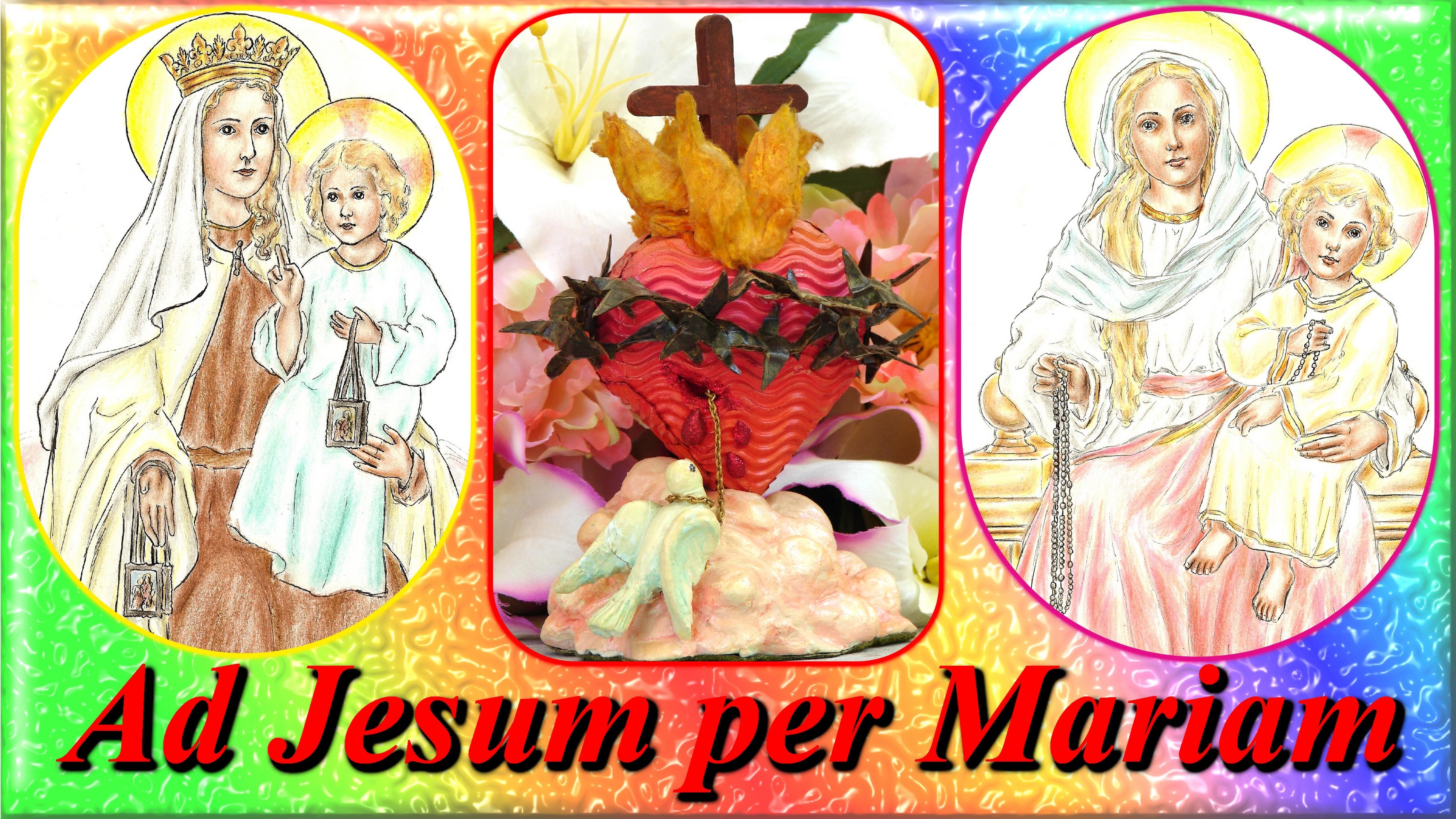 Carte de vœux 2019 Ad-jesum-per-mariam-558f552
