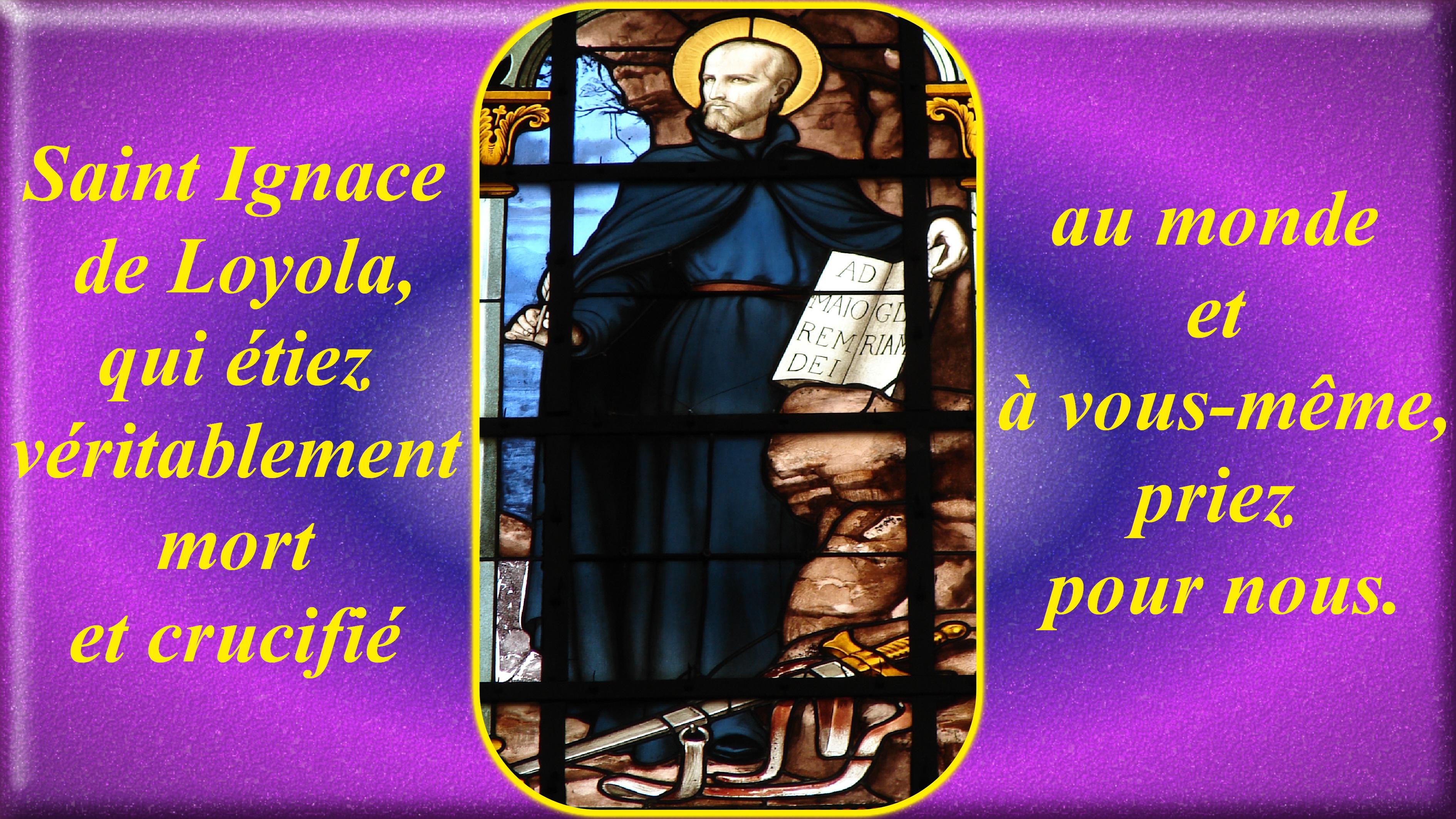 CALENDRIER CATHOLIQUE 2019 (Cantiques, Prières & Images) - Page 4 St-ignace-de-loyola-566c376