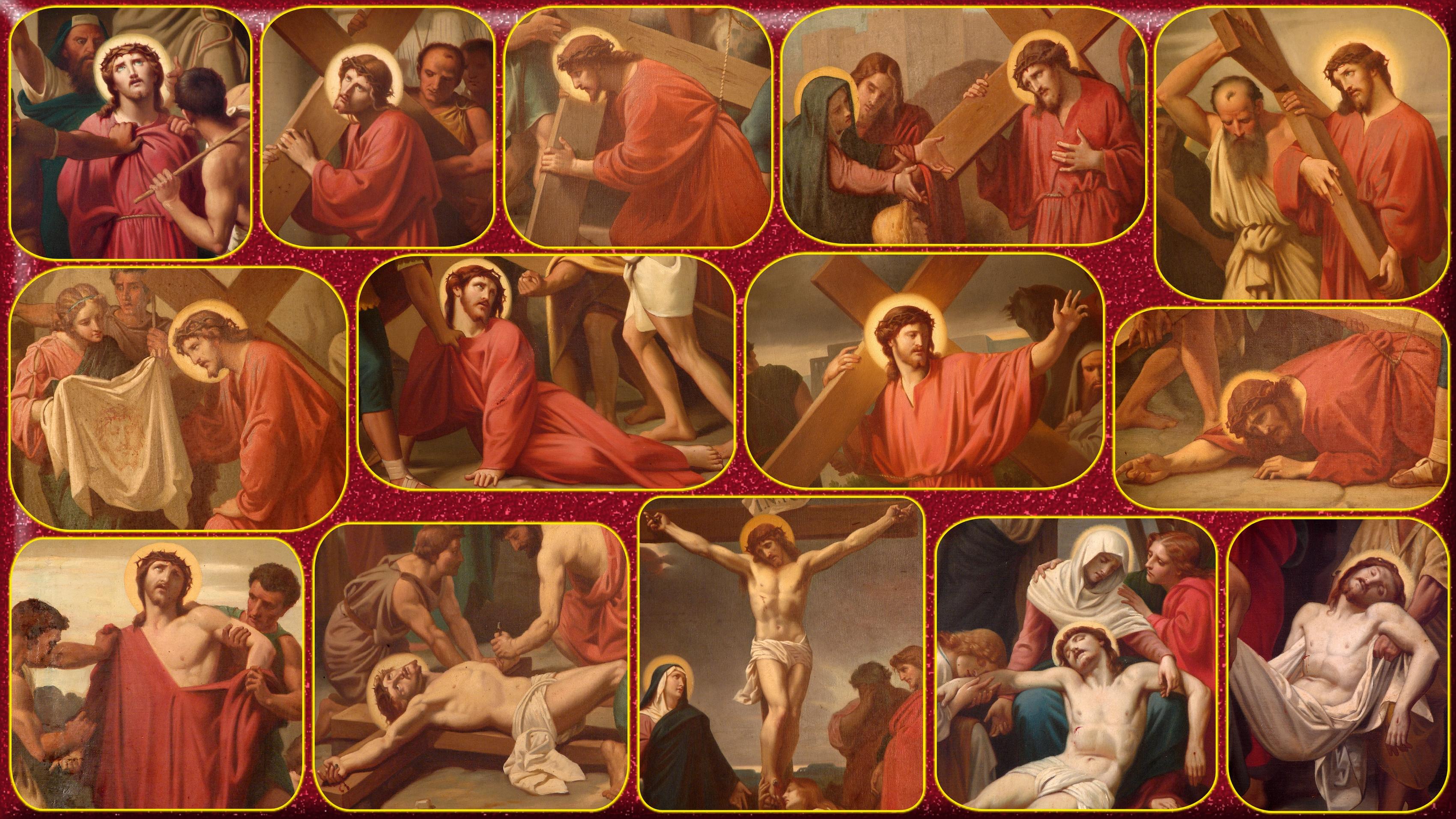 Le Rosaire en Images - Page 3 Le-chemin-de-la-croix-56004a2