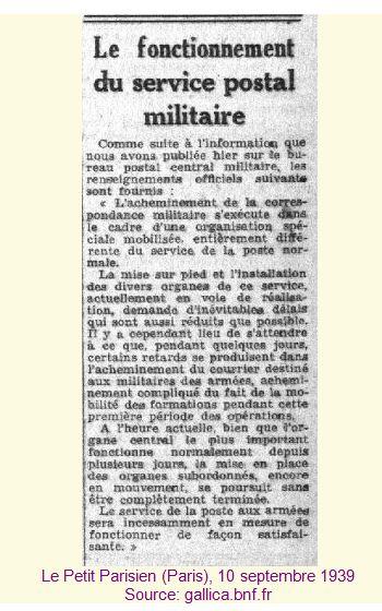 Histoire de la Poste aux armées depuis ses origines. Pp-52f5a65