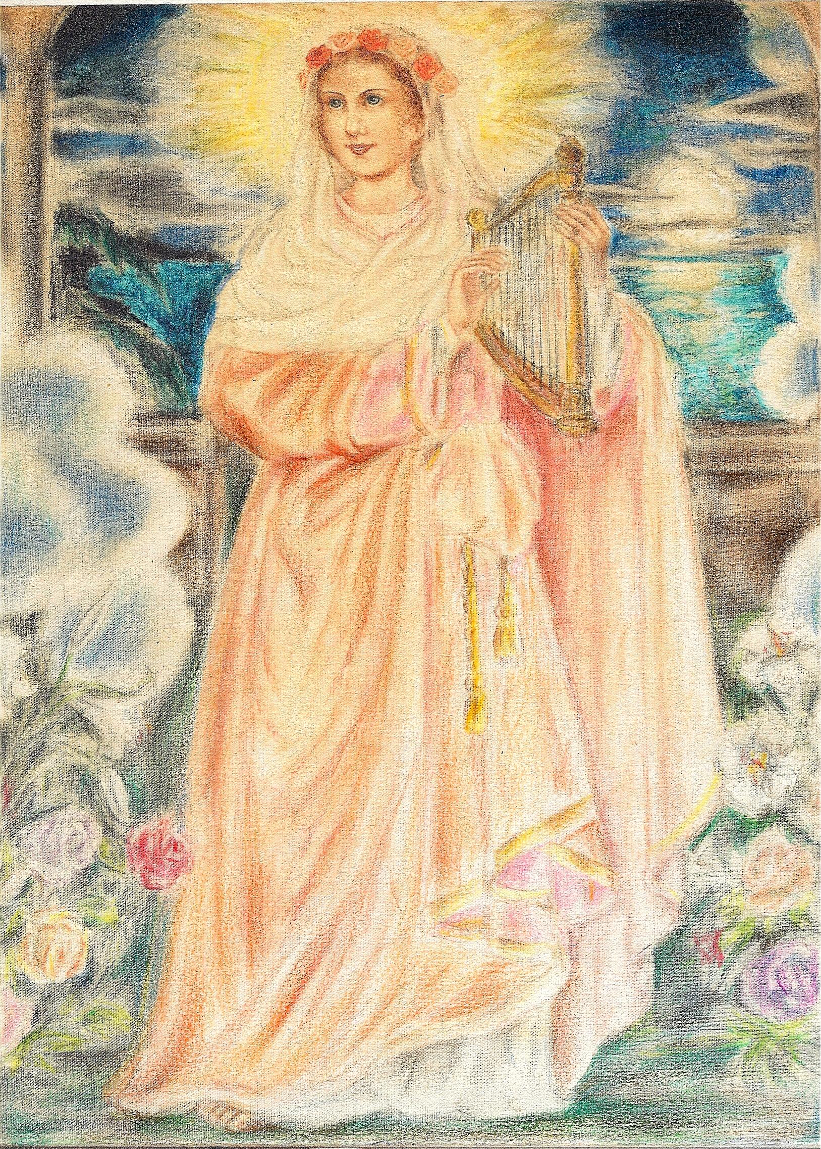 ODE à SAINTE CÉCILE Sainte-c-cile-tableau--5569581