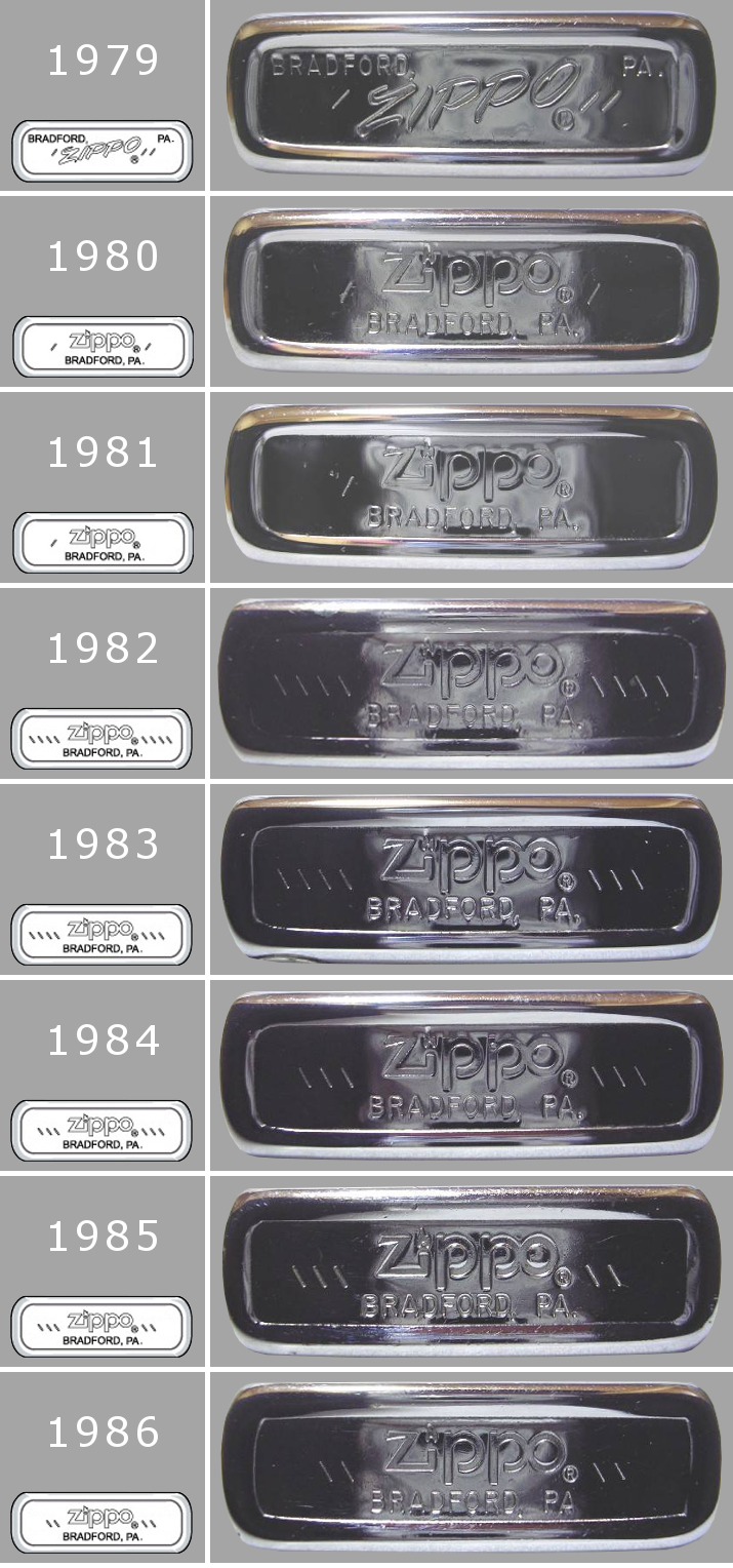 Datation - [Datation] Les Zippo Regular Regular-1979-1986-5266fc7