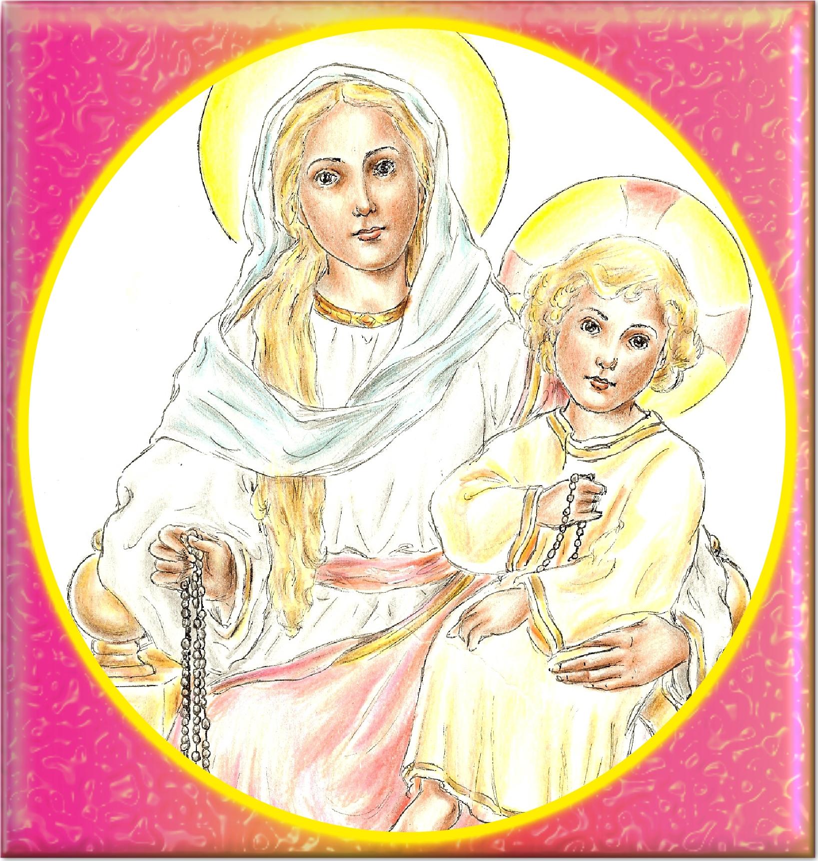 Le ROSAIRE CHANTÉ  Notre-dame-du-rosaire-559e104