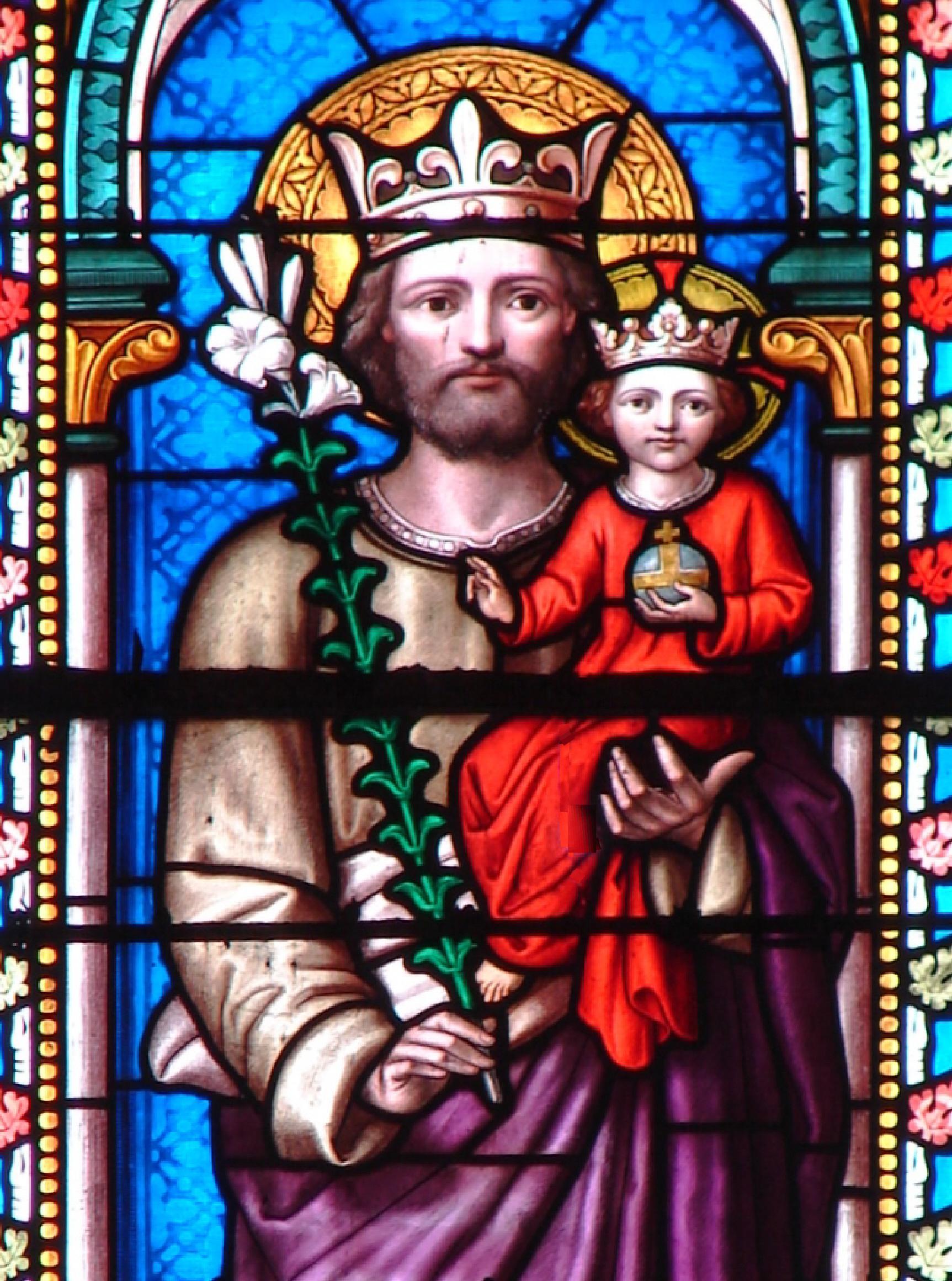 CALENDRIER CATHOLIQUE 2020 (Cantiques, Prières & Images) - Page 8 St-joseph-couronn--55ef7f6