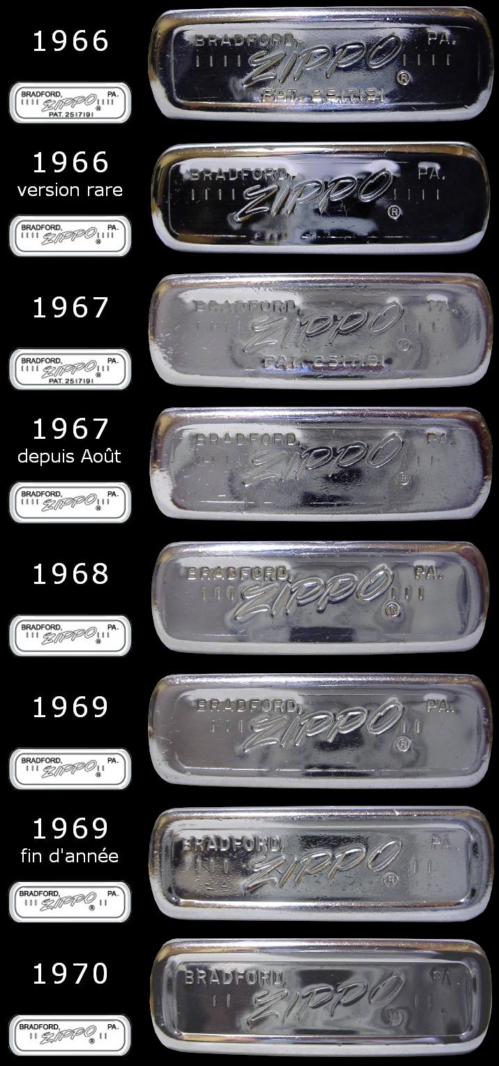 Datation - [Datation] Les Zippo Regular Regular-1966-1970-5266fbd