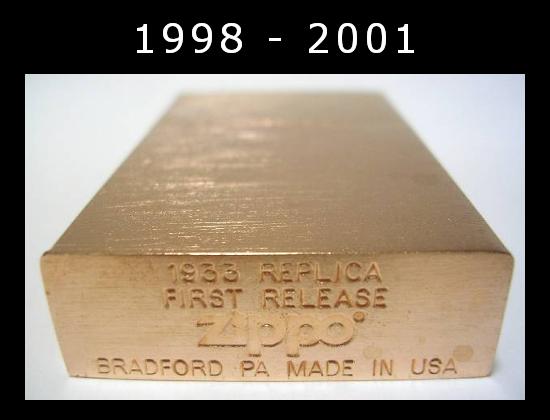 Datation - [Datation] Les Zippo 1932-1933 Replica 1998---2001-2--523a993