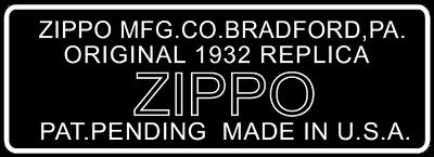 Datation - [Datation] Les Zippo 1932-1933 Replica Bottom-dessin-1988-1992-523a863