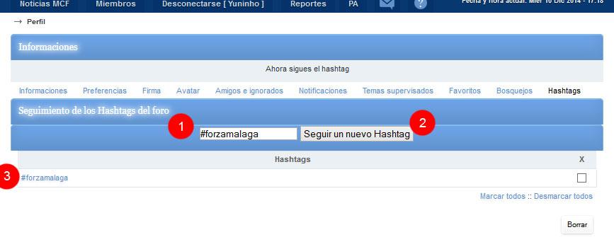 Nueva funcionalidad: Menciones (@) y Hashtag (#) en ForoActivo - Página 2 1-48f95ab