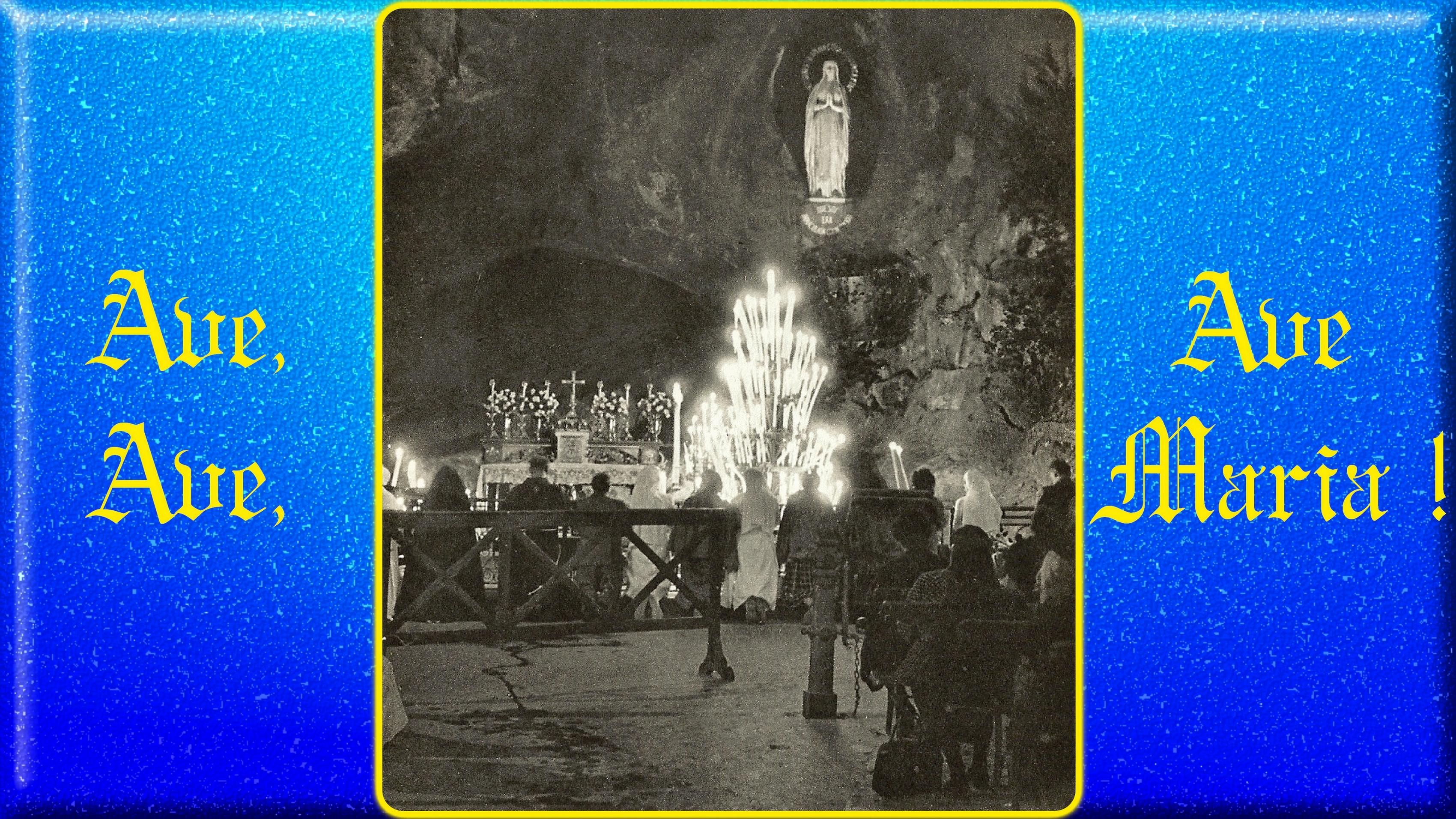 CALENDRIER CATHOLIQUE 2020 (Cantiques, Prières & Images) - Page 5 La-grotte-de-lourdes-55b5789